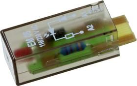 PTML0730 , 7-1415036-1, red LED 110..230 VAC