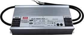 HLG-480H-30AB, AC/DC LED, блок питания для светодиодного освещения