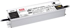HLG-185H-C1400A, AC/DC LED, блок питания для светодиодного освещения