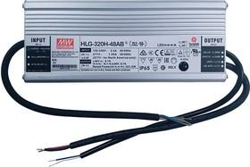 HLG-320H-C3500AB, AC/DC LED, блок питания для светодиодного освещения