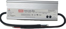 HVG-320-30A, AC/DC LED, блок питания для светодиодного освещения
