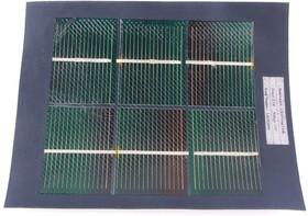 Фото 1/3 2.5W CIGS Solar Cloth, Солнечная панель-ткань 2.6В 950мА
