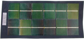 Фото 1/3 5W CIGS Solar Cloth, Солнечная панель-ткань 5.3В 950мА