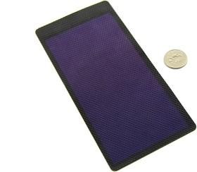 Фото 1/4 2V 1W Thin-film Flexible Solar Panel, Солнечная панель гибкая 2В 1Вт