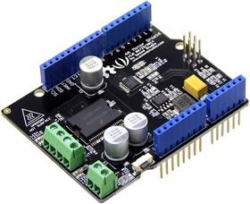 Фото 1/4 4A Motor Shield, Плата управления двигателями на основе MC33932 для Arduino проектов