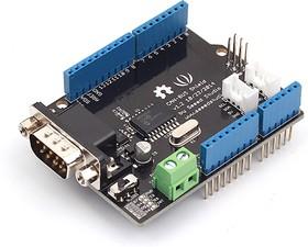 Фото 1/4 CAN-BUS Shield V1.2, Arduino-совместимая плата расширения интерфейс CAN-BUS