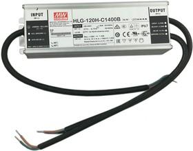 HLG-120H-C1400AB, AC/DC LED, блок питания для светодиодного освещения