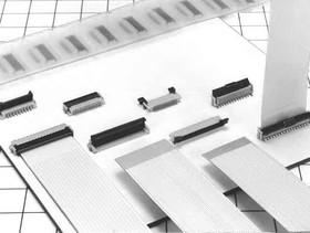 FH12-45S-0.5SV(55), Conn FFC/FPC Connector SKT 45 POS 0.5mm Solder ST SMD T/R