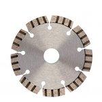 Фото 6/8 730027, Диск алмазный ф115х22,2мм, лазерная приварка турбо-сегментов, сухое резание