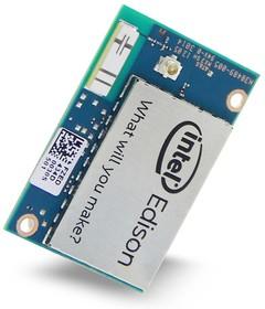 Фото 1/5 Intel Edison Compute Module, Миникомпьютер на базе Intel SoC включающий в себя dual core IntelAtom 500МГц и МК 32-bit IntelQuark