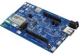 Фото 1/5 Intel Edison Kit for Arduino, Миникомпьютер на базе Intel SoC включающий в себя dual core IntelAtom 500МГц и МК 32-bit IntelQuark