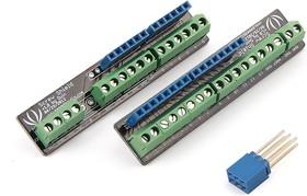 Фото 1/4 Screw Shield, Винтовые клеммные колодоки для Arduino