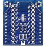 Фото 2/5 Xbee Breakout Kit, Адаптер-переходник для модулей серии Bee, обеспечивает переход на шаг 2.54 (100mil)