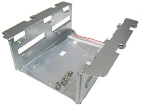 "Лоток SuperMicro MCP-220-00044-0N Dual 2.5"" fixed HDD mounting bracket (only w/o DVD)"