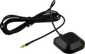 ANT GPS ANT380 MMCX-M 2M, Антенна GPS с кабелем 2м и разъемом MMCX