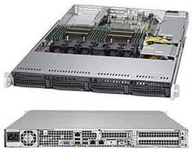 "Платформа SuperMicro SYS-6018R-TDW 3.5"" С612 1G 2P600W"
