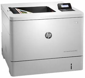 Принтер HP Color LaserJet Enterprise M553dn, лазерный, цвет: белый [b5l25a]