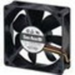 Фото 1/2 109R0824H402, DC Fan Axial Ball Bearing 24V 12V to 27.4V 36.4CFM 29dB 80 X 80 X 25mm