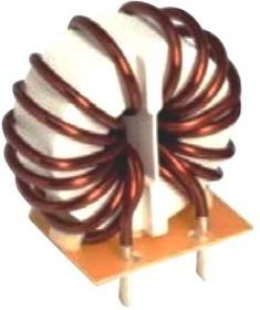 SCR38-200-2R3A010J, Choke, Common Mode, 1 mH, 20 A, 250 VAC, Radial Leaded, SCR38 Series