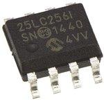Фото 2/2 25LC256-I/SN, Микросхема памяти 256KBIT 10MHZ [SOIC-8]