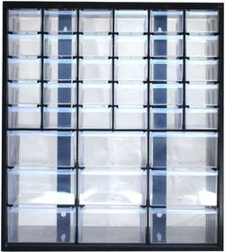 Фото 1/2 1-93-981, Органайзер для комплектующих 39 ячеек, 36.5 х 16 х 44.5 см