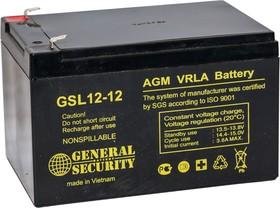 GSL 12-12, аккумулятор свинцовый
