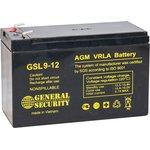 GSL 9-12, аккумулятор свинцовый