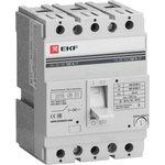 Выключатель авт. 3п ВА-99 160/100А EKF mccb99-160-100