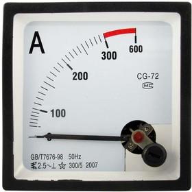 Амперметр 300/5А 50гц (72х72)