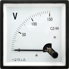 Вольтметр 150В 50гц (96х96)