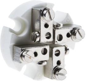 XQ-290-RS, 4 way ceramic screw termi