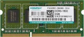 Модуль памяти KINGMAX DDR3 - 2Гб 1600, SO-DIMM, Ret
