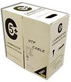 Кабель информ. Lanmaster (LAN-5EFTP-OUT) кат.5е F/UTP PVC внеш. 305м черн.