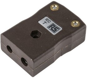 R-IS-T-F, TYPE T BROWN IN LINE SOCKET 6.5MM CABLE