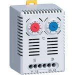 Термостат NO+NC (охлаждение и обогрев) на DIN-рейку 10A 230В ...