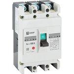 Автоматический выключатель ВА-99М 100/100А 3P 35кА EKF Basic | mccb99-100-100m | EKF