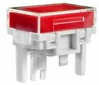AT4027JC, Switch Access Rectangular Colored Insert Cap Push Button Switch