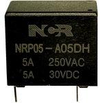NRP05-A-05D-H, Реле 1 зам. 5V / 5A, 250VAC