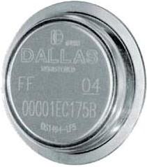 DS1973-F5+, Ключ iButton с памятью, 4Кбита, EEPROM