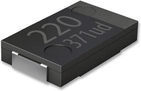 EEFSX0D271E4, Polymer Aluminium Electrolytic Capacitor, 270 мкФ, 2 В, 2917 [7343 Метрический], SP-Cap SX Series