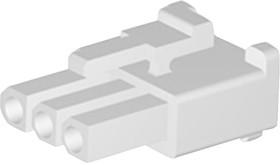 Фото 1/2 15-31-1032, Корпус разъема, 5025 Series, Гнездо, 3 вывод(-ов), 4.8 мм, Molex 5005 Series Socket Contacts