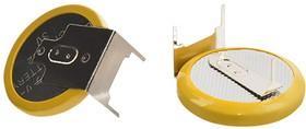 CR2032-HP2M1, Элемент питания литиевый (1шт) 3В, 3 вывода, горизонтальный | купить в розницу и оптом