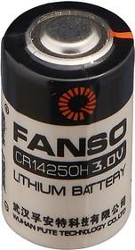 CR14250H/S (1/2AA), Элемент питания литиевый 950 mAh, 14.5х25.2(1шт) 3В