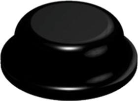 SJ5076, клейкие ножки d8x2.8 черные цилиндр