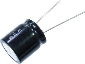 Фото 1/3 EEUED2G470S, электролитический конденсатор 47мкФ, 400В, радиальн выв 18x20