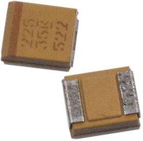 T491B106M025AT B 10 мкФ-25B 20%, танталовый SMD конденсатор