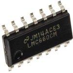 LMC660CM, Квадрантный операционный усилитель с однополярным ...