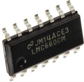 Фото 1/2 LMC660CM, Квадрантный операционный усилитель с однополярным питанием, +5В…+15В