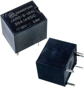 JARD-S-124L (GY2J-0318-24V-analogue TRKML24VDCS2), 24V Relay at 0.6W Form C ,sealed