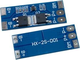 HX-2S-D01, модуль защиты заряда литиевой батареи 7.4В 8А